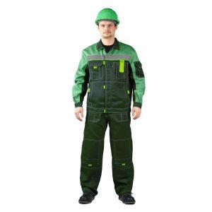 """Костюм """"РОЛЬФ"""" куртка/полукомбинезон темно-зеленый URSUS"""