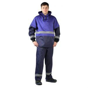 Костюм противоэнцефалитный куртка/брюки темно-синий URSUS