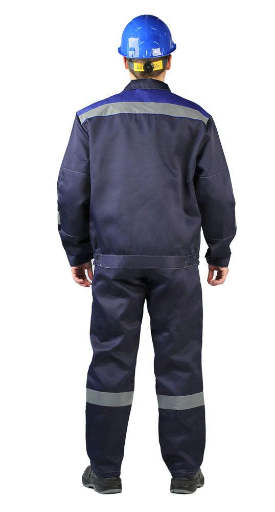 "Костюм ""ЛЕГИОН"" куртка/полукомб. темно-синий"