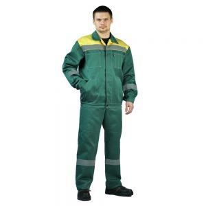 """Костюм """"ЛЕГИОН"""" куртка/полукомб. темно-зеленый URSUS"""