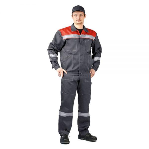 "Костюм ""ЛЕГИОН"" куртка/полукомб. темно-серый URSUS"