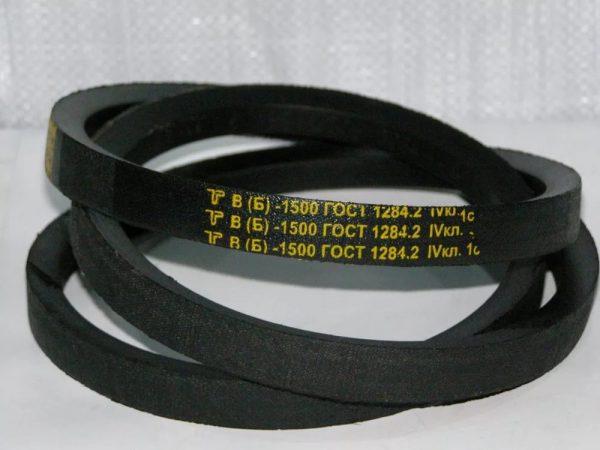 Ремни клиновые приводные размеры по ГОСТ 1284.1-89-1284.3-89