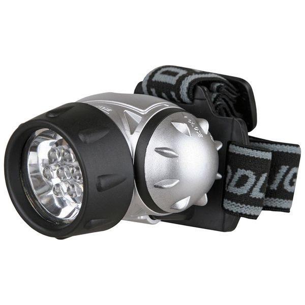 Фонарь налобный LED 5351(7LED 3 режима; 3хR03) Ultraflash