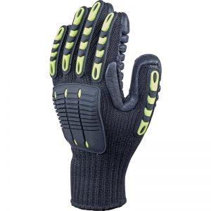 Антивибрационные трикотажные бесшовные перчатки NYSOS VV904 DeltaPlus