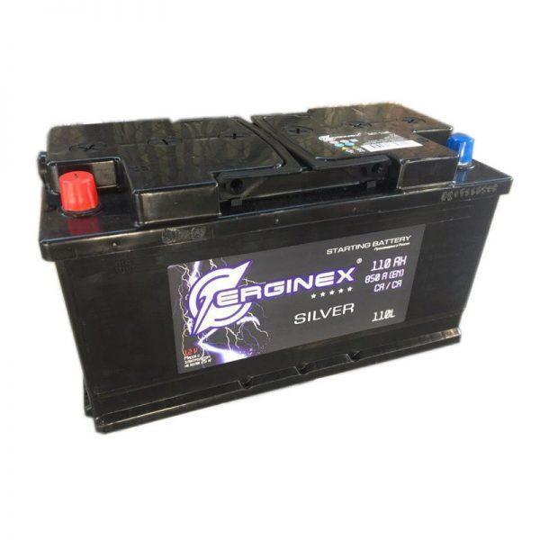 Аккумулятор стартерный 6СТ-110А Erginex прямая полярность