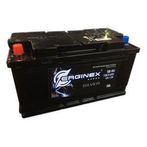 Аккумулятор стартерный 6СТ-90А Erginex прямая полярность