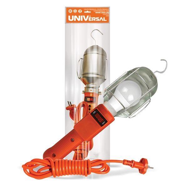Светильник переносной ПВС 2х0.75 с выкл. 10м. 220В UNIVersal
