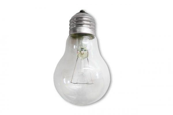 Лампа накаливания Е27 прозрачная 60Вт 230В Калашниково