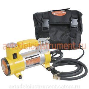 Автокомпрессор с фонарем 12В 10,5 атмосфер 35л/мин