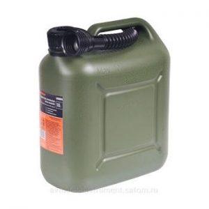 Канистра 10 литров для ГСМ усиленная пластик ВП