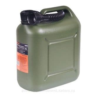 Канистра 20 литров для ГСМ усиленная пластик ВП