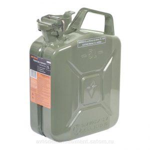 Канистра 5 литров для ГСМ стальная усиленная
