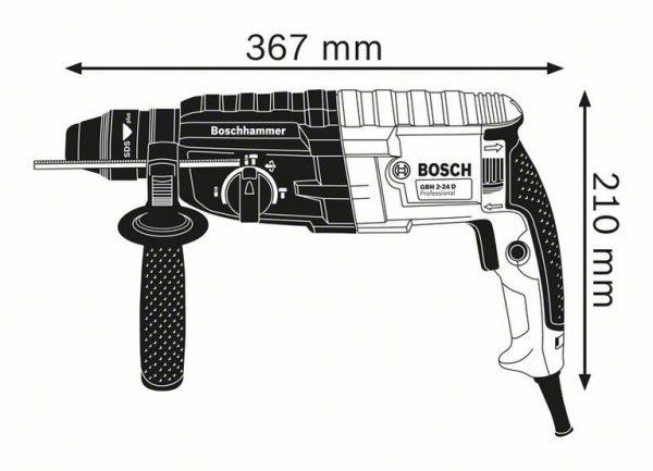 Перфоратор с патроном SDS plus Bosch GBH 240 Professional