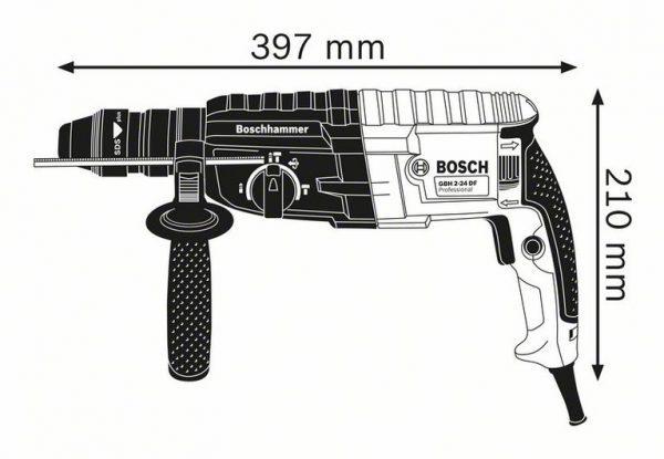 Перфоратор с патроном SDS plus Bosch GBH 240 F Professional