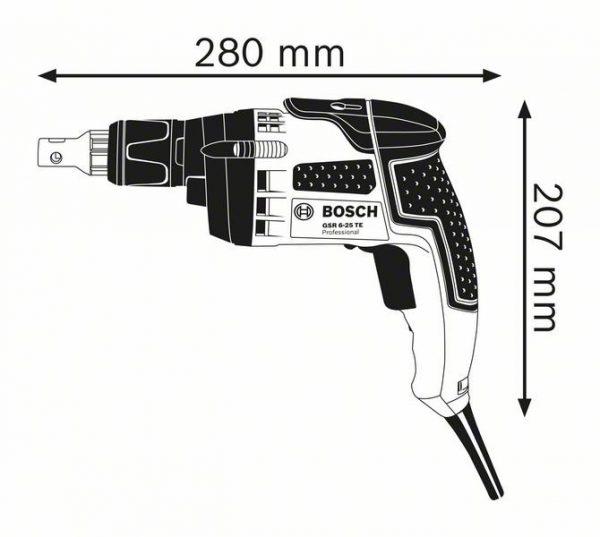 Шуруповерт Bosch GSR 6-25 TE Professional