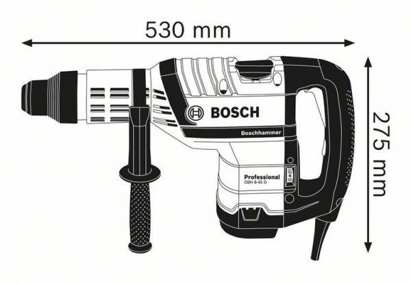 Перфоратор с патроном SDS max Bosch GBH 8-45 D Professional