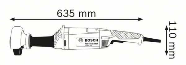 Прямая шлифмашина Bosch GGS 8 SH Professional