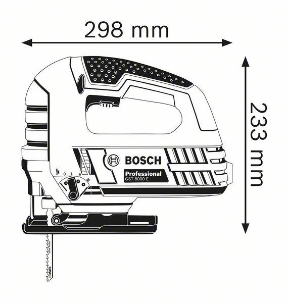 Электролобзик Bosch GST 160 BCE Professional