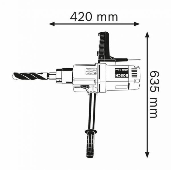 Дрель Bosch GBM 32-4 Professional