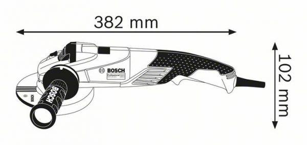 Угловая шлифмашина Bosch GWS 18-125 SPL Professional