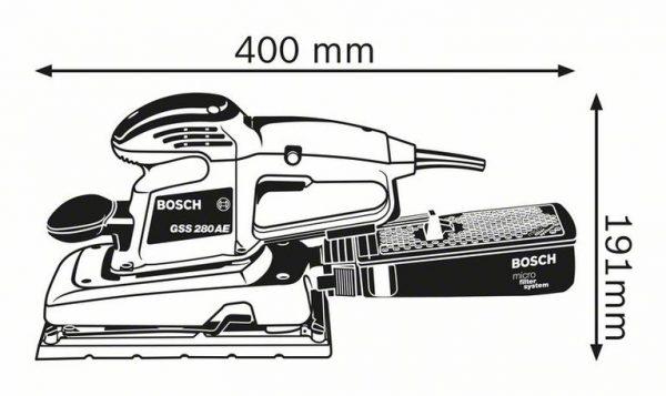 Виброшлифмашина Bosch GSS 280 AE Professional