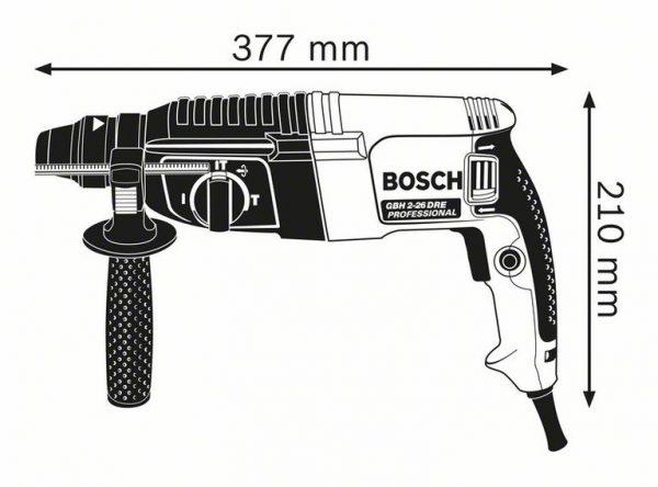 Перфоратор с патроном SDS plus Bosch GBH 2-26 DRE Professional