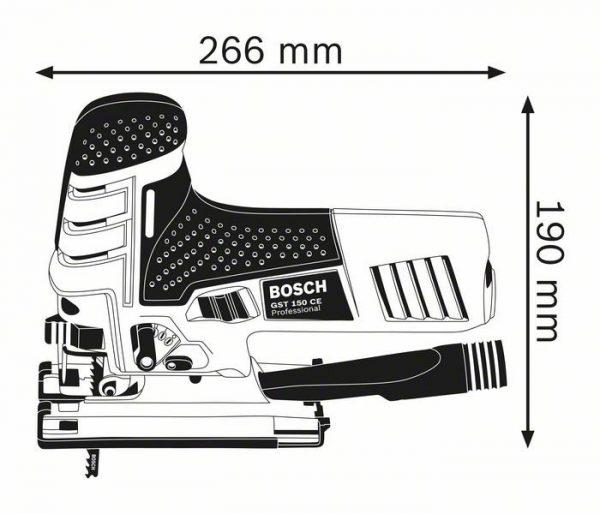 Электролобзик Bosch GST 150 CE Professional