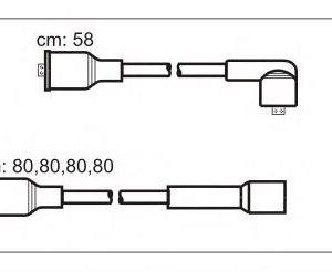 ABU61 JANMOR комплект проводов зажигания