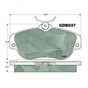 PBP1024 Patron Колодки тормозные дисковые