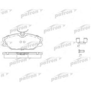 PBP1420 Patron Колодки тормозные дисковые