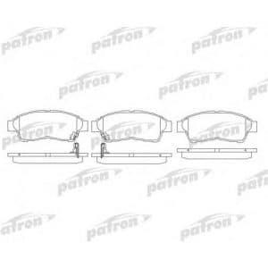 PBP867Patron Колодки тормозные дисковые