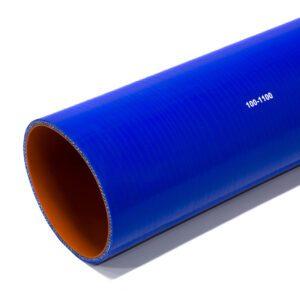 Патрубок силиконовый прямой Ф 100 мм L=1100 мм
