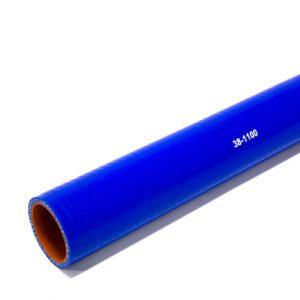 Патрубок силиконовый прямой Ф 38 мм L=1100 мм