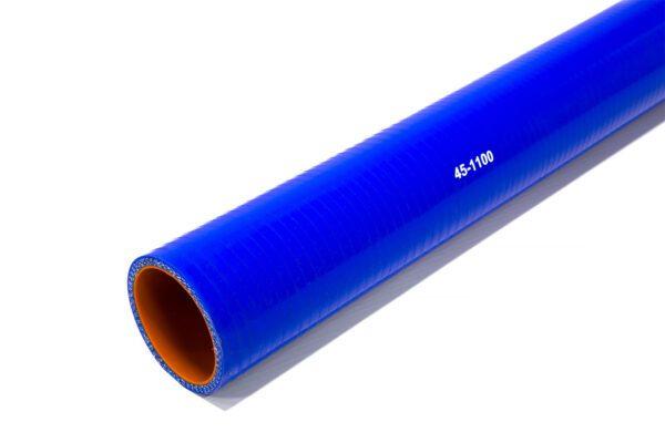 Патрубок силиконовый прямой Ф 45 мм L=1100 мм