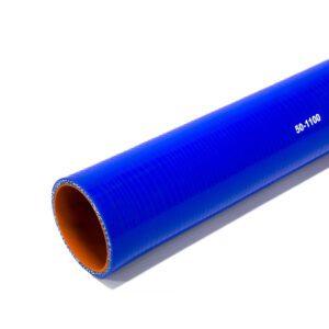 Патрубок силиконовый прямой Ф 50 мм L=1100 мм