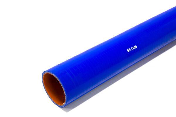 Патрубок силиконовый прямой Ф 55 мм L=1100 мм