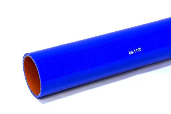Патрубок силиконовый прямой Ф 60 мм L=1100 мм