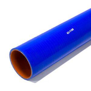 Патрубок силиконовый прямой Ф 63 мм L=1100 мм