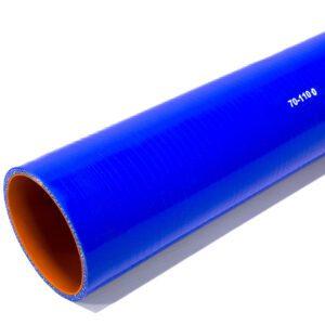 Патрубок силиконовый прямой Ф 70 мм L=1100 мм