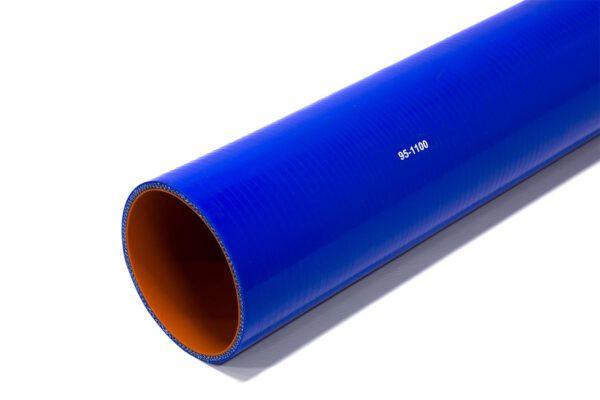 Патрубок силиконовый прямой Ф 95 мм L=1100 мм