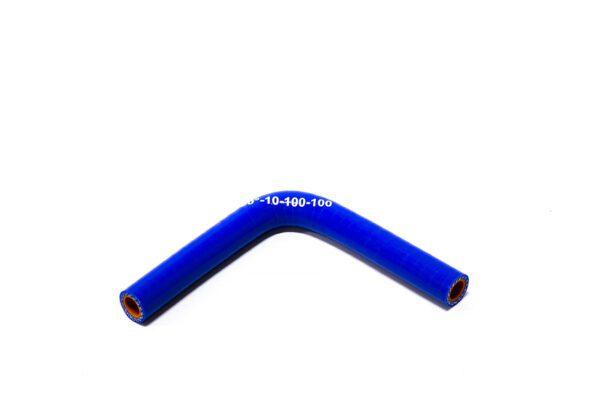 Патрубок силиконовый угловой Ф 10 мм L=100х100 мм, 90°