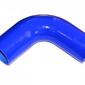 Патрубок силиконовый угловой Ф 80 мм L=200х200 мм, 90°