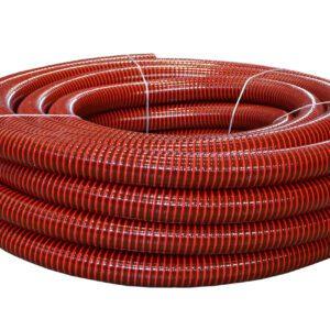 Шланг ассенизаторский морозостойкий ПВХ 50 мм (30 м) красный, АгроЭластик