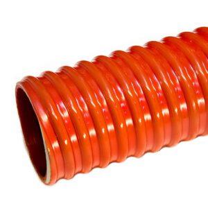 Шланг ассенизаторский морозостойкий ПВХ 50 мм (30 м) красный, CLEAN