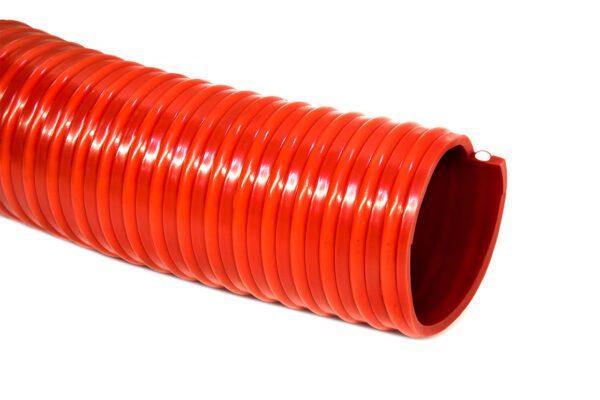 Шланг ассенизаторский морозостойкий ПВХ 63 мм (30 м) красный, CLEAN